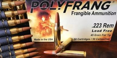 223 5.56 mm PolyFrang