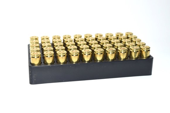 9 mm PolyFrang Frangible Ammunition - 50 rounds box insert
