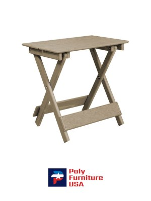 Amish Made Poly Furniture USA All Weather Poly Table Weather Wood