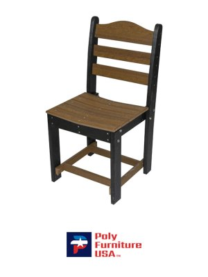 English Dining Chair Without Arms