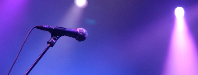 Open mic, ready for your voice