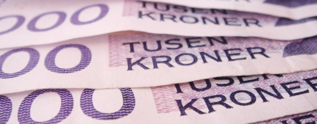 A bunch of Norwegian banknotes - what opportunity can you imagine springing from these? Image from freeimages.com