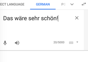 Google Translate offers TTS features.
