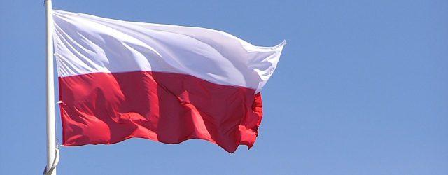 The Polish flag. Photo by Michal Zacharzewski from FreeImages