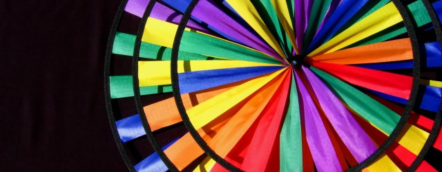 A wheel of colours. Image by Karen Barefoot, freeimages.com