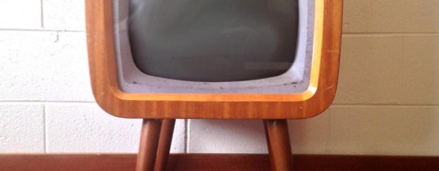 Vintage TV set for franchise hopping! Image by FreeImages.com