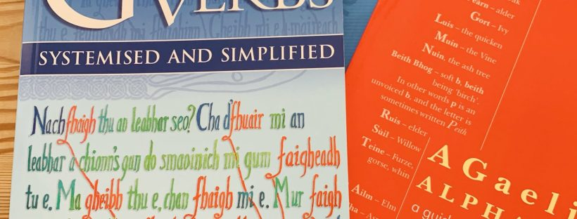 Three books for learning Scottish Gaelic