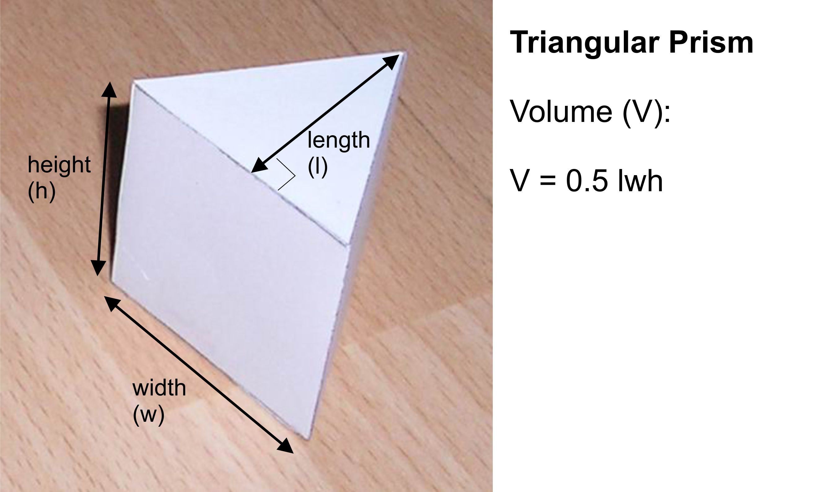 Paper Triangular Prism