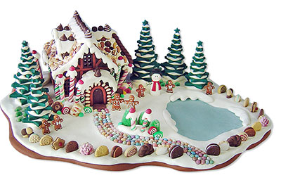 Sahl's polymer clay gingerbread houses (1/2)