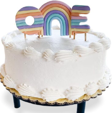 Ashley celebrates one with a clever cake topper on PolymerClayDaily.com