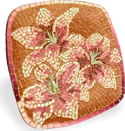 Bobbi Fraser Davis enters a local exhibit with her tiger lilies on PolymerClayDaily.com