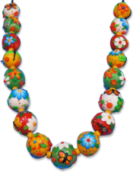 Brandon's Cinco de Mayo polymer necklace