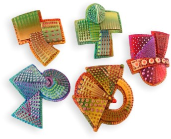 Chris Baird makes polymer bits reverberate on PolymerClayDaily.com