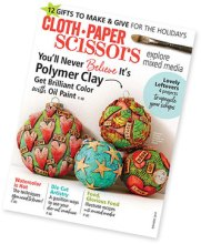 Cover girl Doreen Gay Kassel rips and tears on PolymerClayDaily