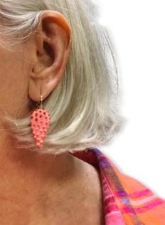 Polka dot earrings lure Cynthia Tinapple back to studio play on PolymerClayDaily.com