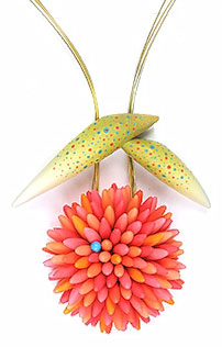 Jeff Dever's blossom steals the show on PolymerClayDaily.com