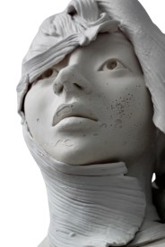 Gosia expresses emotion in her pensive sculptures on PolymerClayDaily.com
