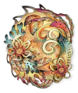 Donna Greenberg prepares for Fall in polymer on PolymerClayDaily.com