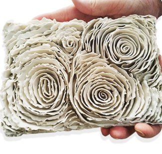 Allie Robinson stretches clay to the limits on PolymerClayDaily.com