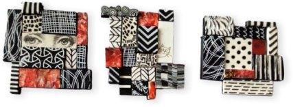 Ivana Svobodova puzzles her scraps together on PolymerClayDaily