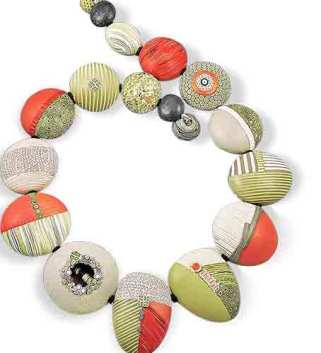 Loretta Lam steps us through a necklace to start the week on PolymerClayDaily.com