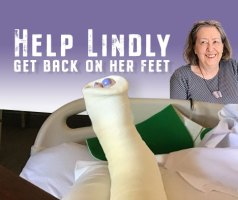 GoFundMe helps Lindly Haunani get back on her feet on PolymerClayDaily.com