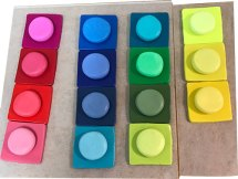 Mindy Meyers teaches herself color during isolation on PolymerClayDaily
