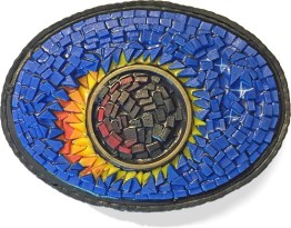 Randy Townsend/Karen Mitchell eclipse brooch on polymerclaydaily.com