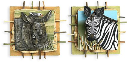 Melissa Terlizzi takes you on safari on PolymerClayDaily.com