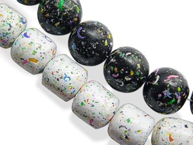 Kathy Koontz shows how to make faux terrazzo polymer on PolymerClayDaily.com