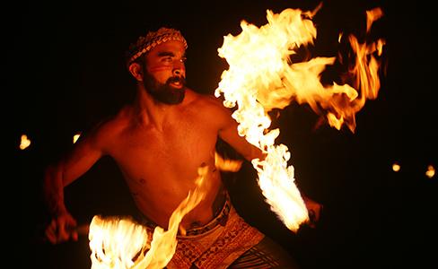 Kuinise Leiataua at the Polynesian Cultural Center