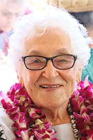 Mariaha Peters at the Polynesian Cultural Center