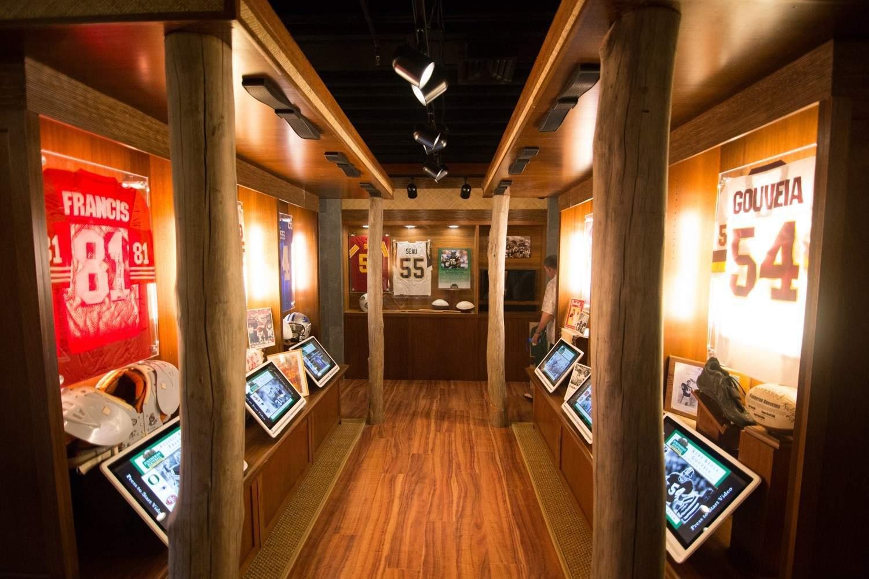 photo of the interior to Polynesian Football Hall of Fame