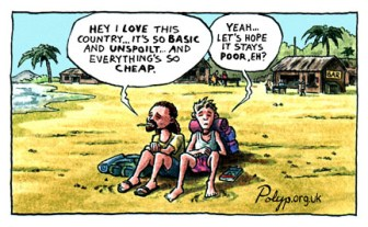 Satirical Cartoons about Wealth and Poverty