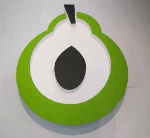 large-3d-logo-smoothed-finish-painted-polystyrene