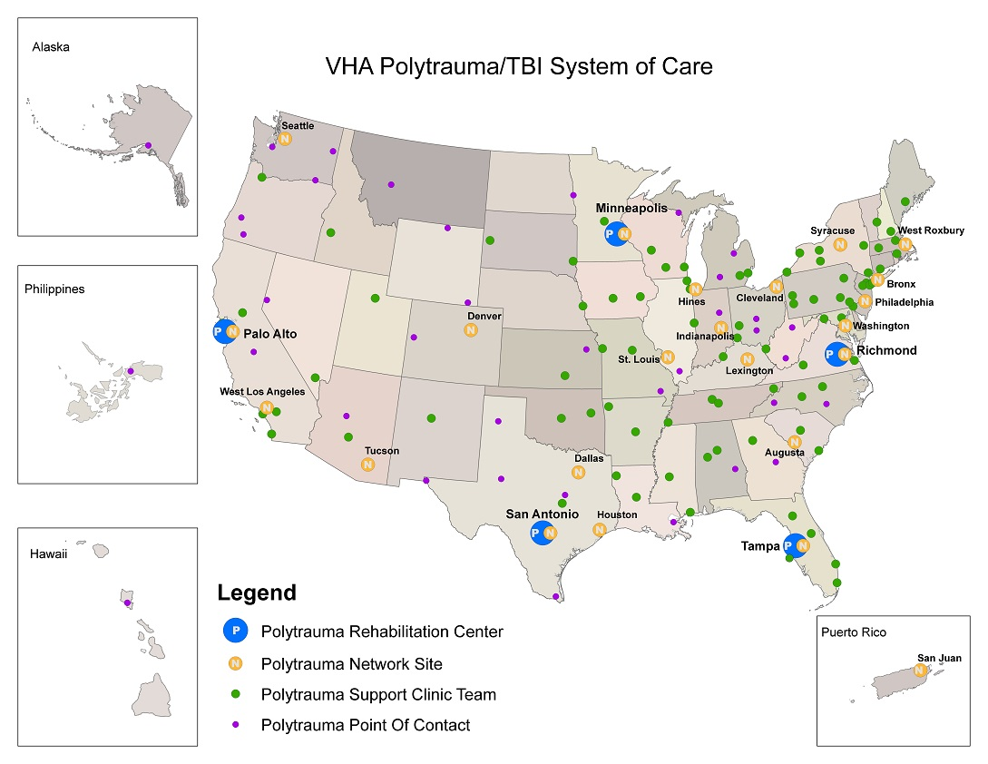 Polytrauma System Of Care Facilities