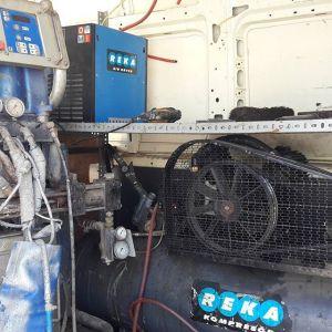 Polyurea makine