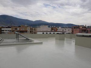 su yalıtımı teraslarda uygulama poliüretan