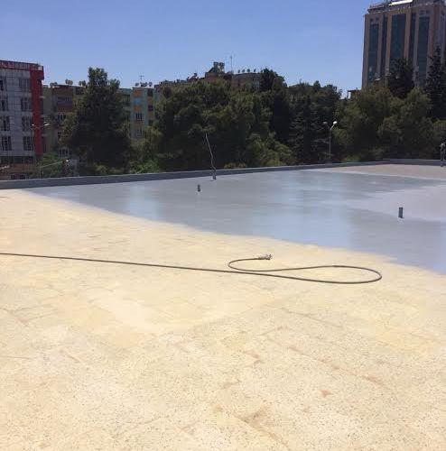 teras su yalıtımı poliüretan