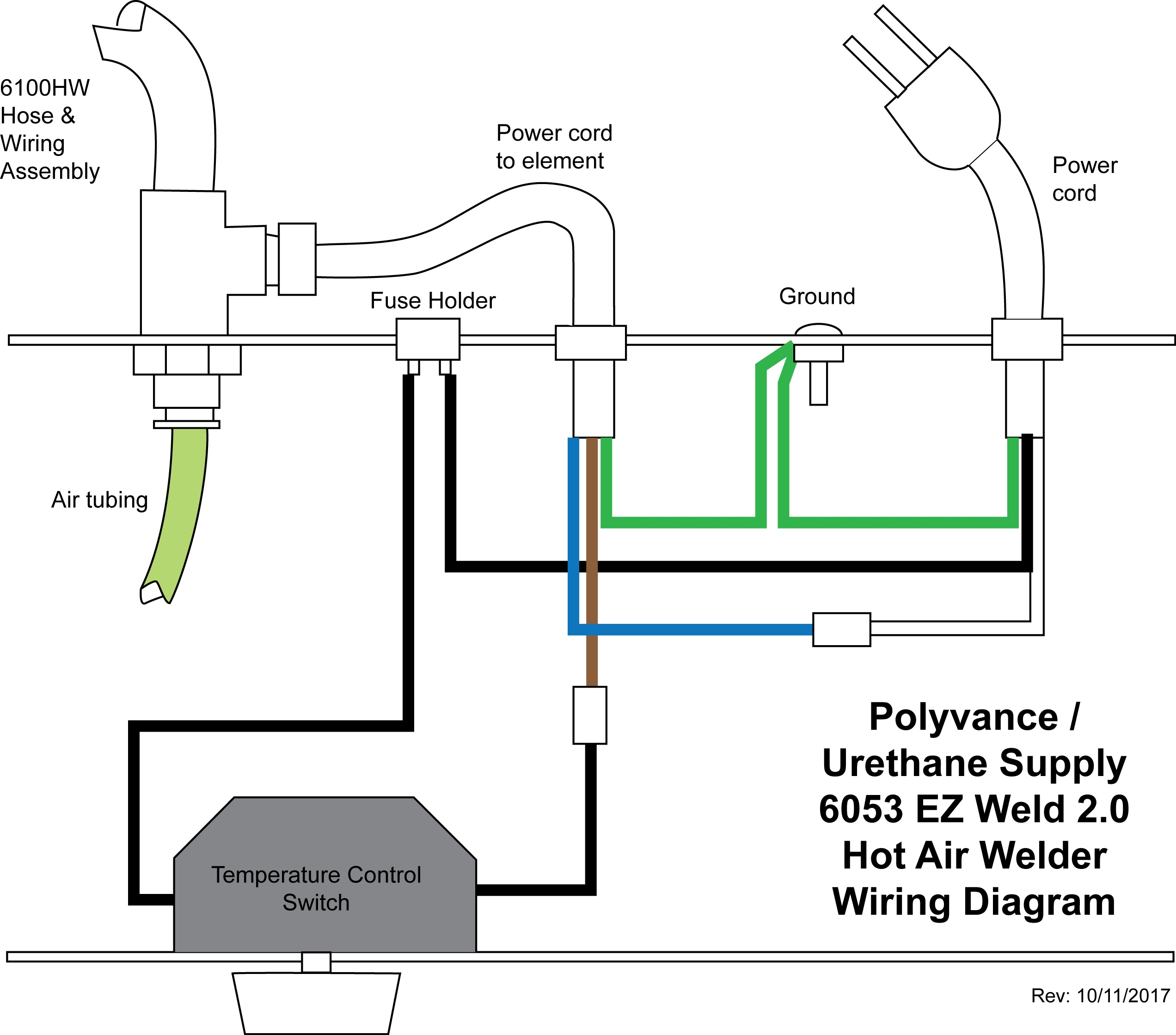Hose Amp Wiring Assembly