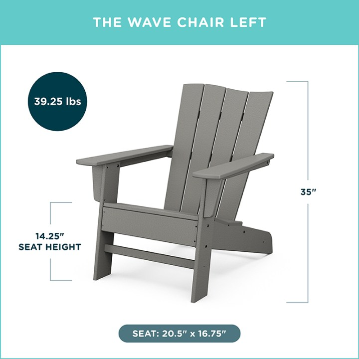 The Wave Chair Left