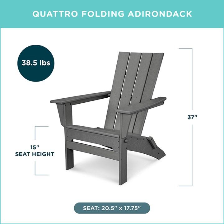 Quattro Folding Adirondack