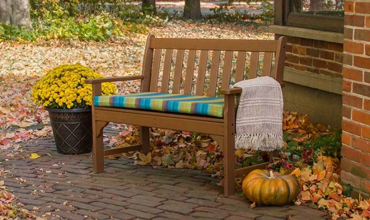 Fall-Bench-with-Cushion