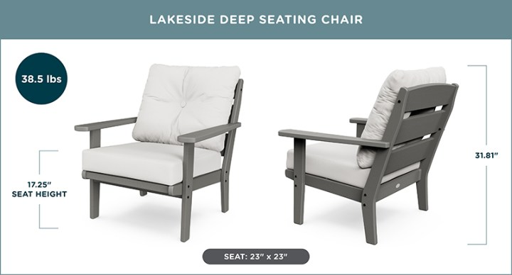 Lakeside Deep Seating Chair