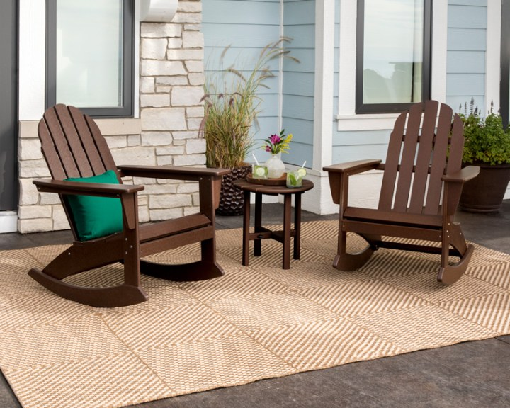 Vineyard 3-Piece Adirondack Rocking Chair Set