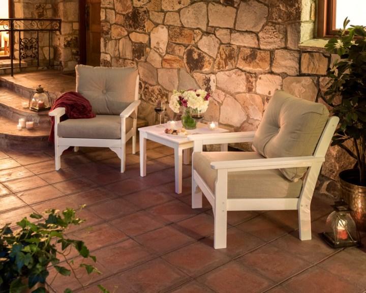 Vineyard 3-Piece Deep Seating Set