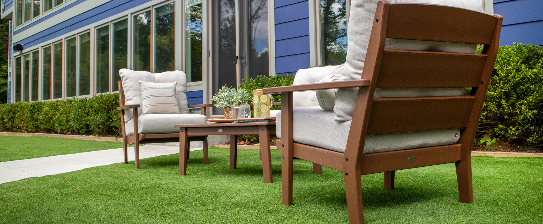 most comfortable patio furniture