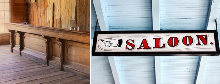 Saloon Western Style Rustic Bar