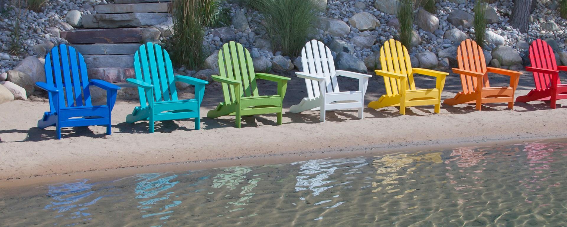 adirondack chairs by polywood