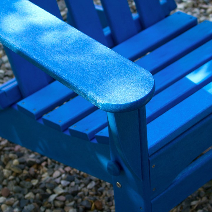 wide arm on a polywood adirondack chair